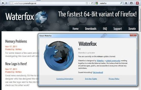 waterfox 8