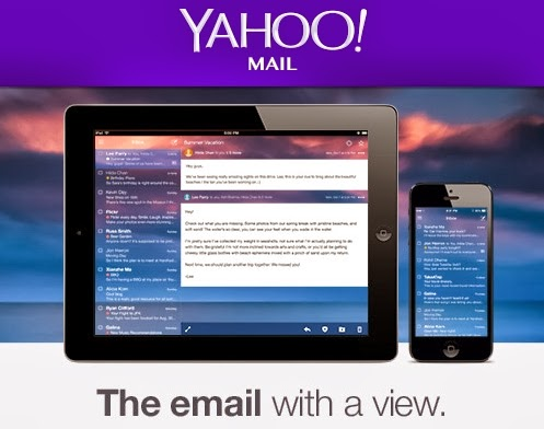 Yahoo updates its email and gives 1TB storage