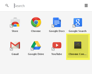chrome connectivity diagnostics