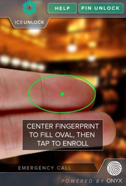 ICE Unlock Fingerprint Secure