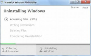 NanWick Windows Uninstaller