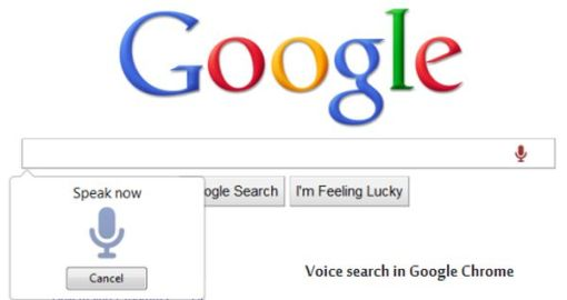Chrome 27 offers voice search
