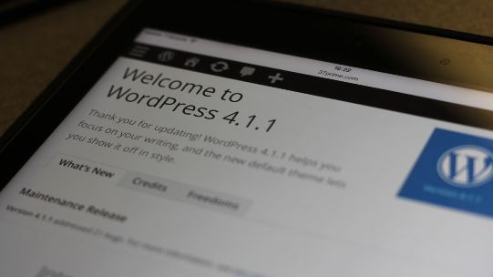 WordPress 4.1.1, a security update needed